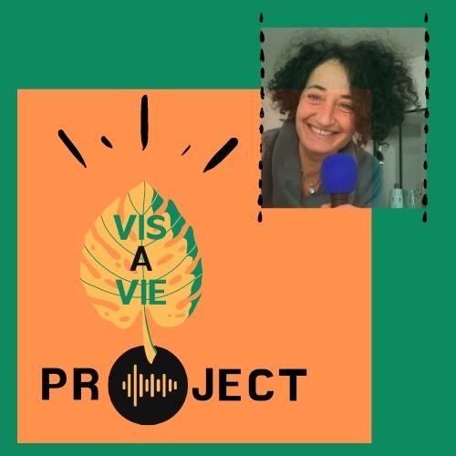 logo visavie project et portrait
