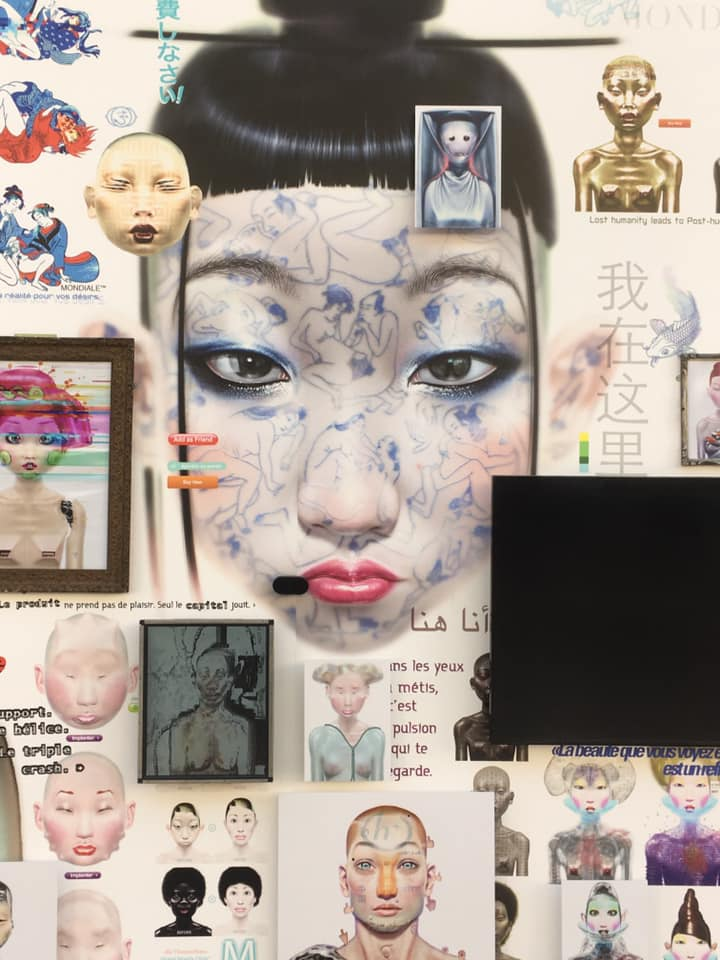 visage numérique