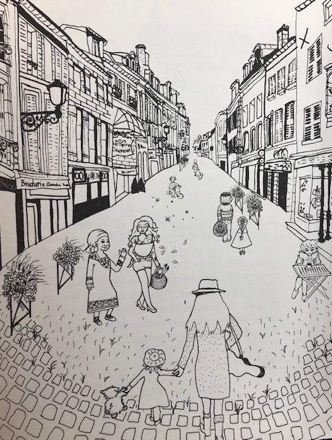 rue Diderot coloriage