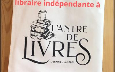 Inès nous ouvre les portes de sa librairie l'Antre de livres à Langres